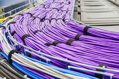 Structured Cabling in Cabling Tray